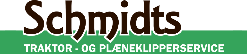 Schmidts Traktor- & Plæneklipperservice Logo